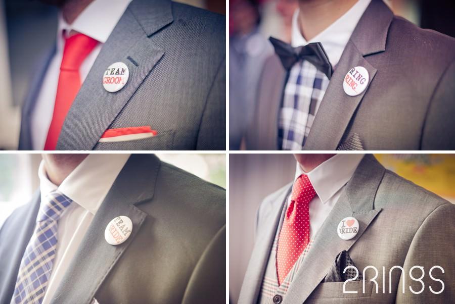 corsage button